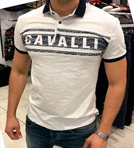 Мужская Брендовая Футболка Cavalli Ф-361 2f5eb21e390c8