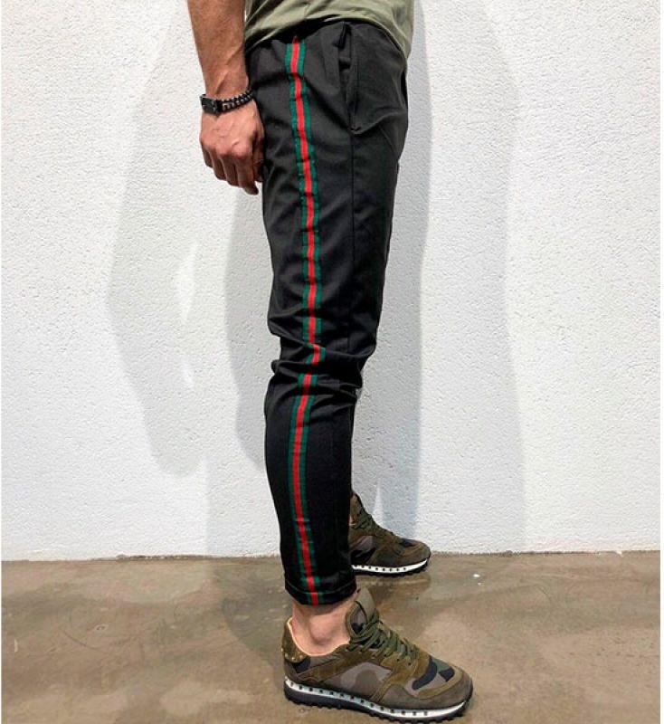 штаны для девочек модные черные