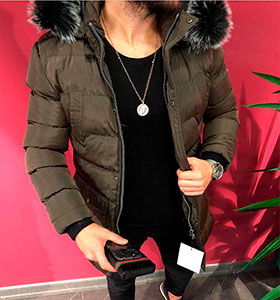 5dd956690db Мужские зимние куртки и пуховики купить в интернет магазине
