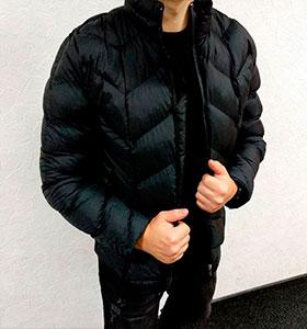 97bcbdc3dbac Брендовая зимняя мужская куртка Moncler Z-200