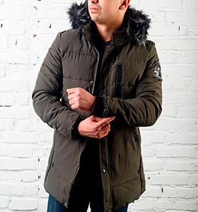 Мужские зимние куртки и пуховики купить в интернет магазине, Украина ... 54934e4faf0