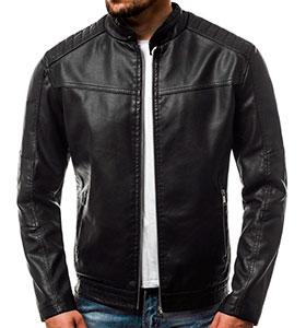 93e08287cf9 Мужская турецкая кожаная куртка К-232