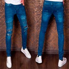 Модные Мужские Джинсы Denim House D-103