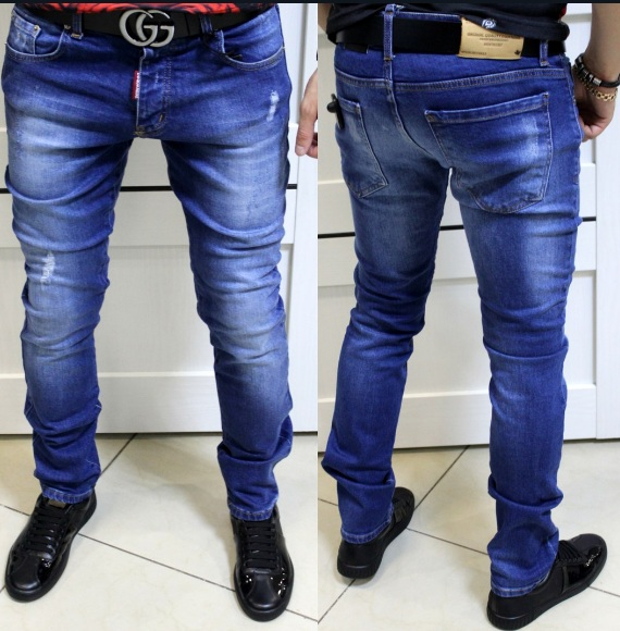 модные мужские джинсы Dsquared D 126
