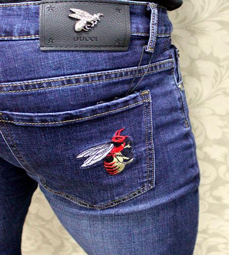 Мужские джинсы Gucci D-149 4373a7fc931