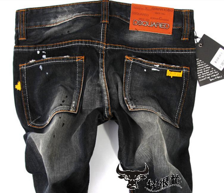 Мужские черные джинсы доставка