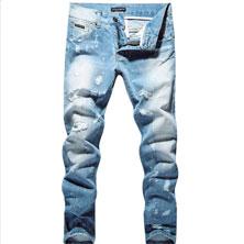 Мода 2018. Мужские джинсы в стиле милитари