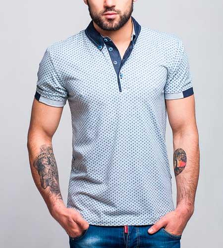 футболка с кожаными вставками мужская купить