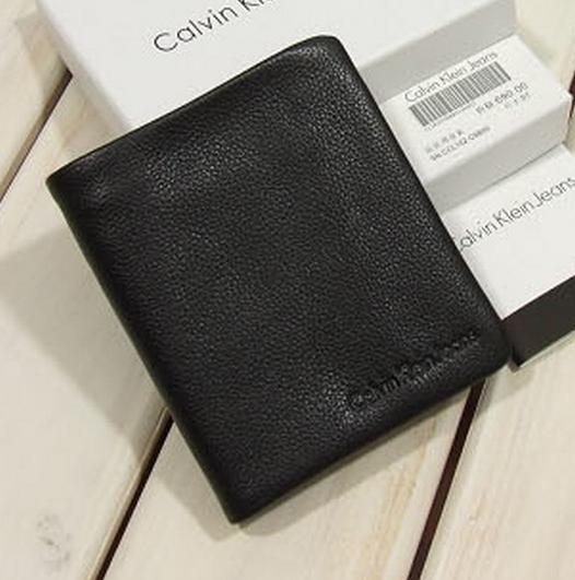 0da3a6399597 Кожаный Мужской Кошелек Calvin Klein K-24