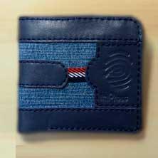 Неординарный Бумажник Деним K-42