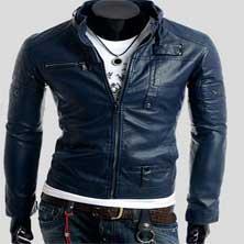 Синяя Стильная Курточка К-102