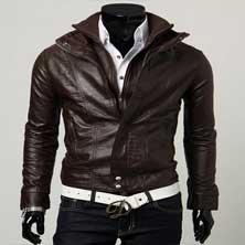 Стильная Коричневая Куртка К-103