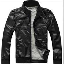 Черная Мужская Куртка KR-11
