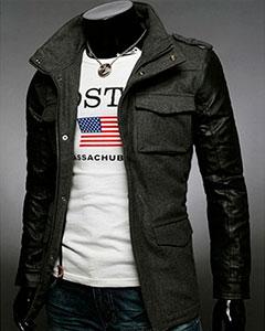 Утепленная Куртка Мужская К-131