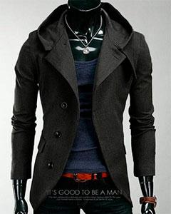 Стильное Мужское Пальто К-137