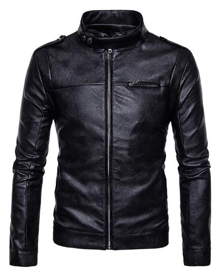 8b7612a8eac Модная Мужская Куртка Кожаная К-179 купить в Украине