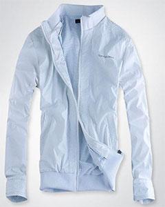 Белая Мужская Куртка Calvin Klein KR-30