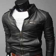 Стильная Черная Куртка К-110
