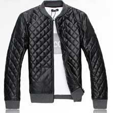 Мужская Куртка из Искусственной Кожи K-81