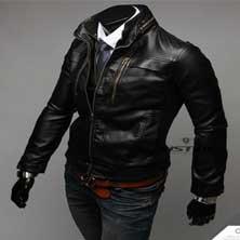Черная Мужская Курточка K-98