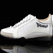 Белые Мужские Кроссовки Dsquared DSQ-1