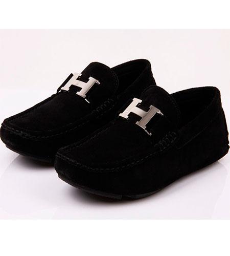 Черные Мужские Туфли Hermes T-59 купить в Украине 19aaf0c5b06