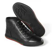 Черный Высокая Обувь Gucci Т-79