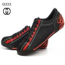 Черные Кроссовки Gucci Т-81