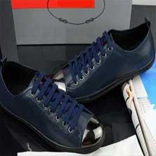 Синяя Мужская Обувь Т-85