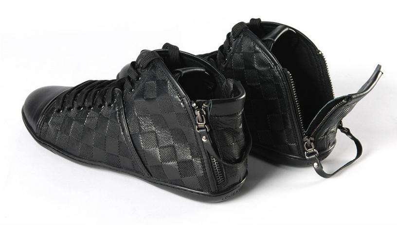 Высокая Мужская Обувь Louis Vuitton Т-88 abe349880d0