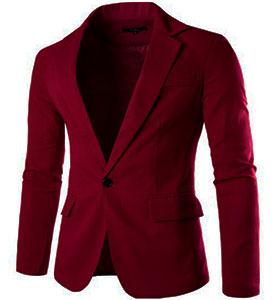 Мужской Красный Пиджак П-100