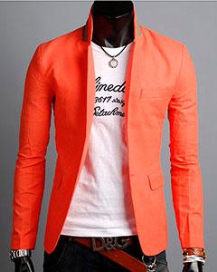 Оранжевый Пиджак П-108