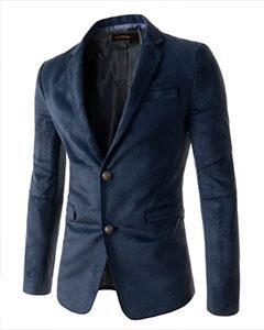 Модный Пиджак Синий П-119
