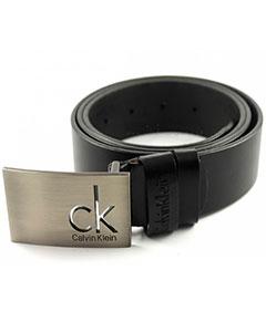 Черный Мужской Кожаный Ремень Calvin Klein CK Р-69