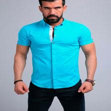 Мужская Летняя Рубашка Р-120