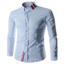 Белая Рубашка со Вставками Р-132