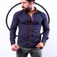 Приталенная Рубашка Р-156