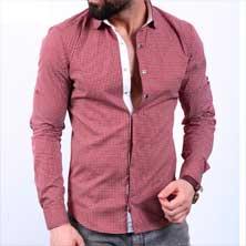 Стильная Мужская Рубашка Р-163