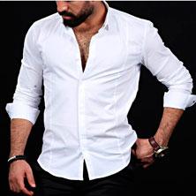 Белая Рубашка Мужская Р-172