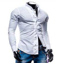 Длинная Белая Рубашка Р-208