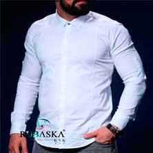 Белая Рубашка с Длинным Рукавом Р-213