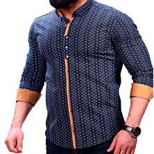 Неординарная Мужская Рубашка Р-215