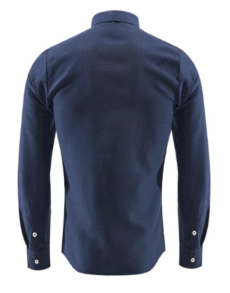Синие брюки и синяя рубашка с доставкой