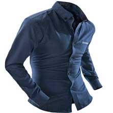 Темно-Синяя Рубашка Р-222