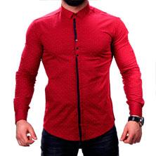 Мужская Красная Рубашка Р-229