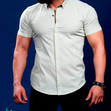 Белая Летняя Рубашка Р-233
