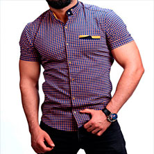Стильная Рубашка на Лето Р-242