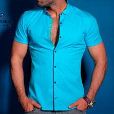 Яркая Рубашка Мужская Р-243