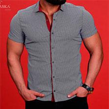 Мужская Летняя Рубашка Р-258