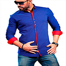 Красивая Мужская Рубашка Р-285